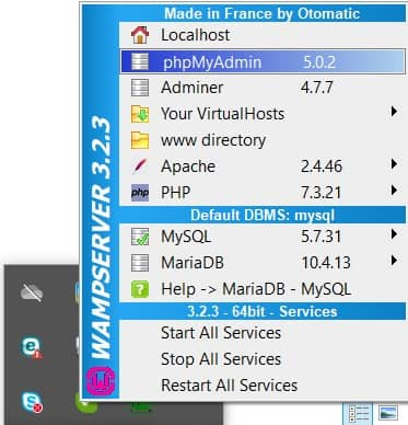 اجرای درست wamp ، آیکون سبز، نصب وردپرس روی لوکال هاست (localhost)